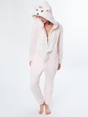 Kombinezon piżamowy przytulanka rose.