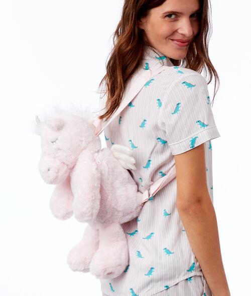 Plecak schowek na piżamę - dinozaur