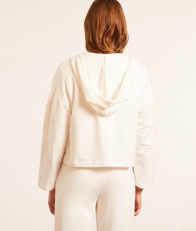 Bluza z kapturem zapinana na zamek błyskawiczny;${refinementColor}