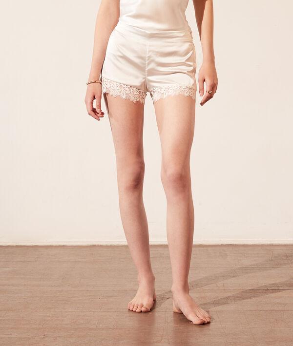 Satynowe szorty od piżamy;${refinementColor}