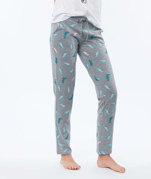 Spodnie w dinozaury