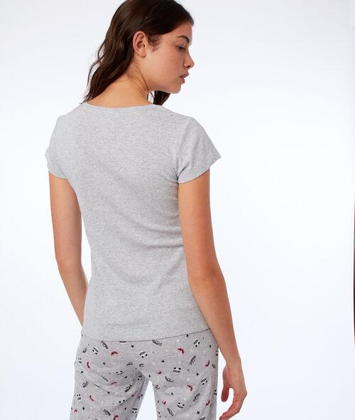 T-shirt z napisem