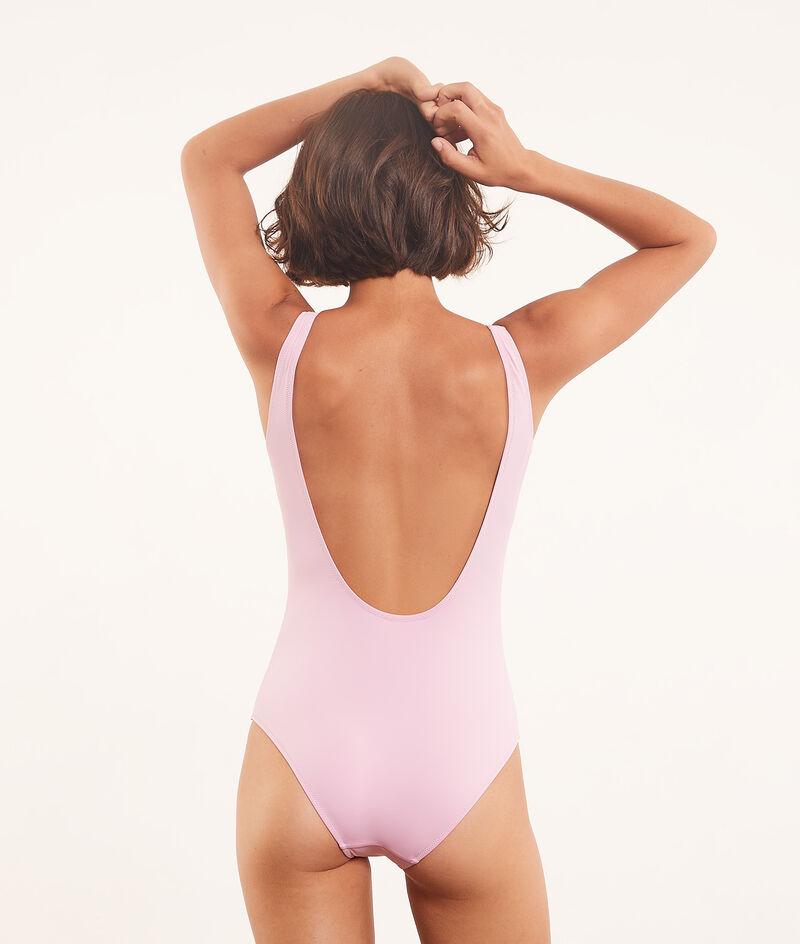 Jednoczęściowy kostium kąpielowy z napisem 'sunset and coquillage';${refinementColor}