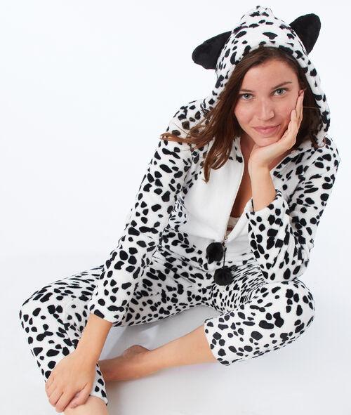 Kombinezon piżamowy dalmatyńczyk