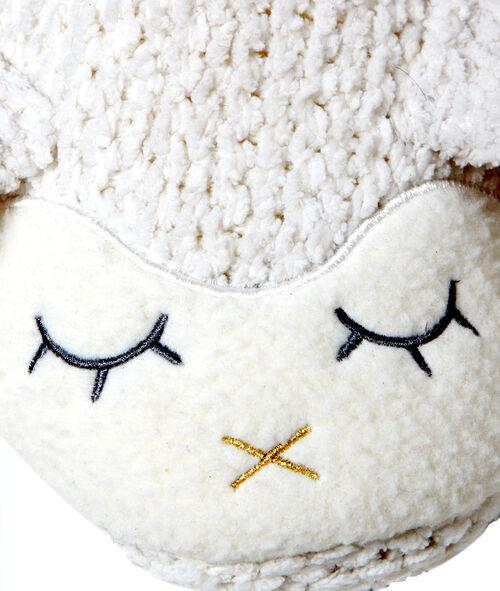 Kapcie z wyszywana owieczką