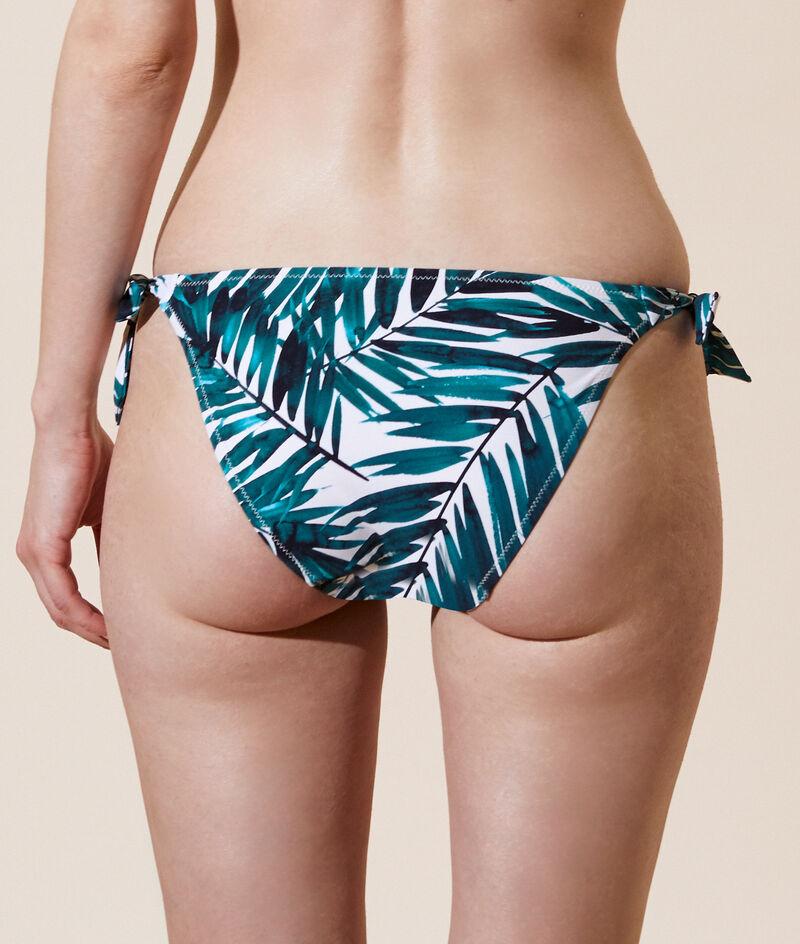 Klasyczny dół bikini z supełkami;${refinementColor}
