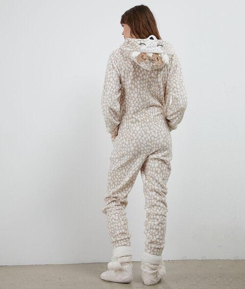 Kombinezon piżamowy żyrafa