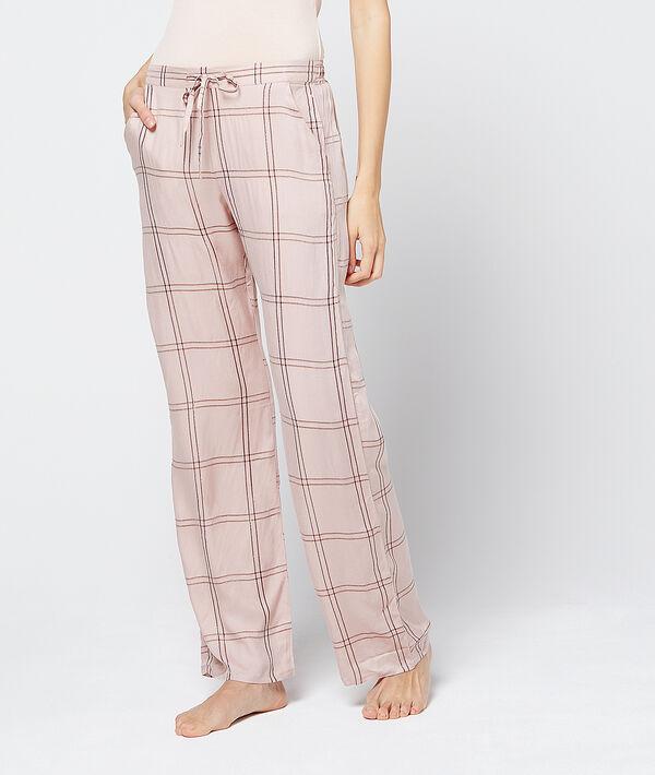 Spodnie w kratę
