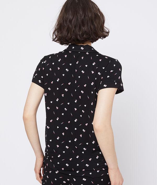 Koszula od piżamy z krótkimi rękawami