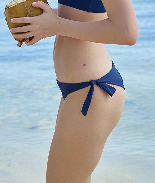 Dół bikini w stylu brazylijskim z supełkami