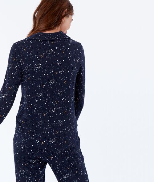 Wzorzysta koszula od piżamy