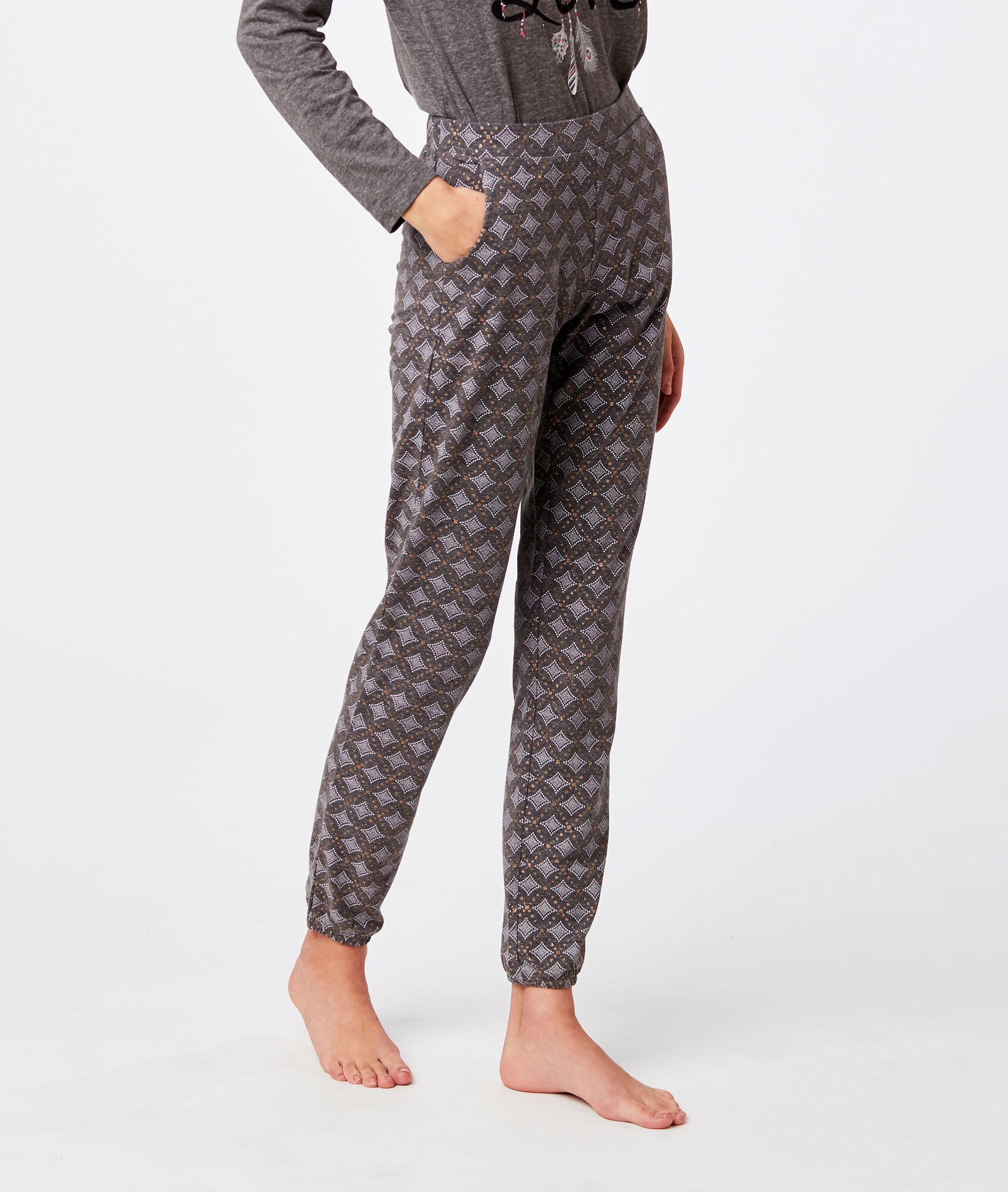 Wzorzyste spodnie - TADILA