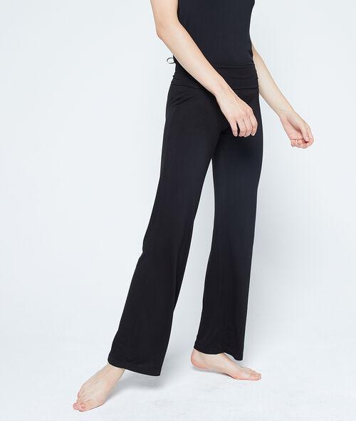 Lejące spodnie z wiskozy