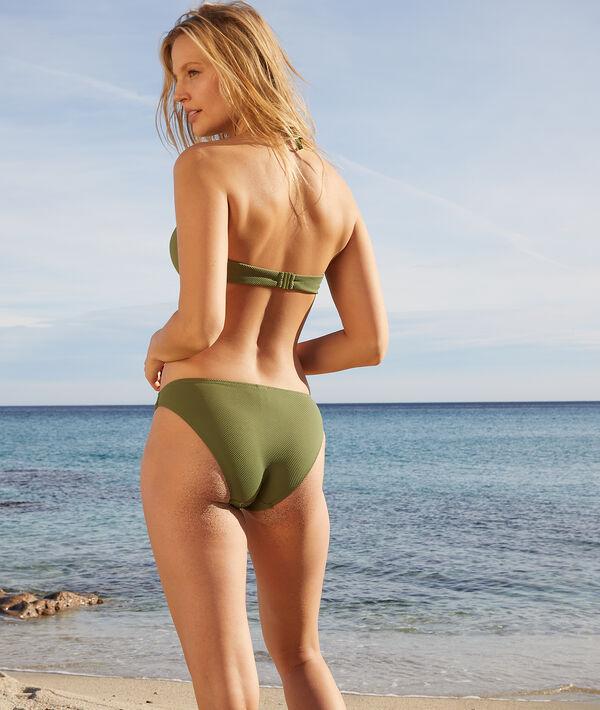 Klasyczna góra od kostiumu kąpielowego, push-up;${refinementColor}