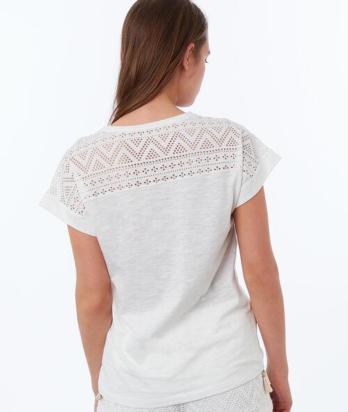 T-shirt w etniczny deseń