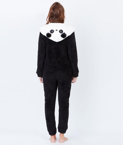 Kombinezon pluszowy, uszy pandy