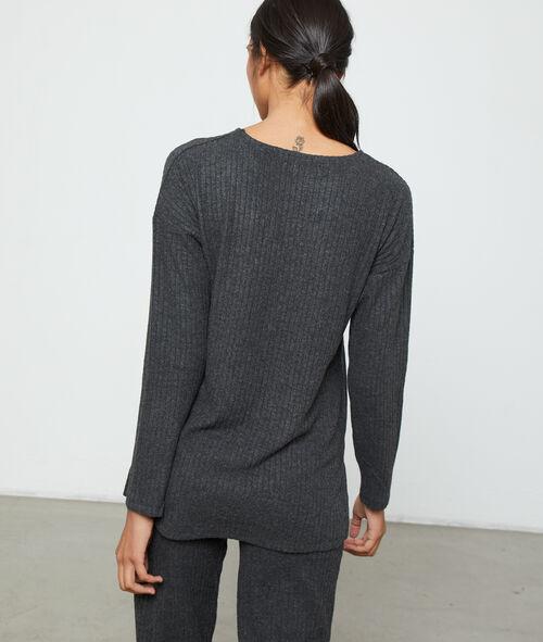 Cienki sweter homewear