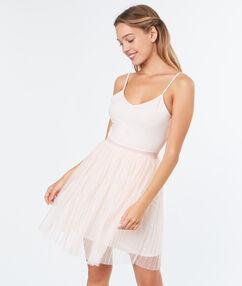 Koszula nocna ze spódniczką baletnicy rose.