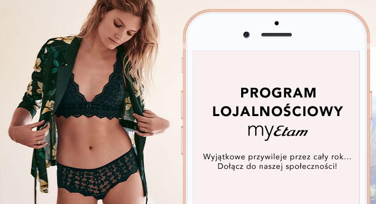 13b7e799e30e Bielizna Damska Nowa Kolekcja Wiosna 2019 w sklepie online Etam.pl