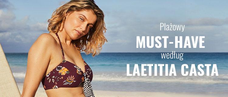 Plażowy must-have według Laetitia Casta