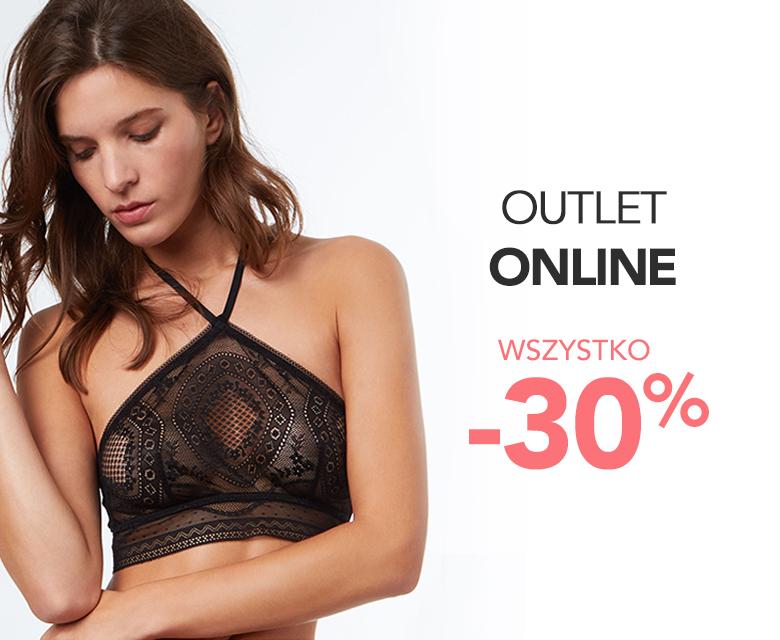 Outlet online - wszystko -30%