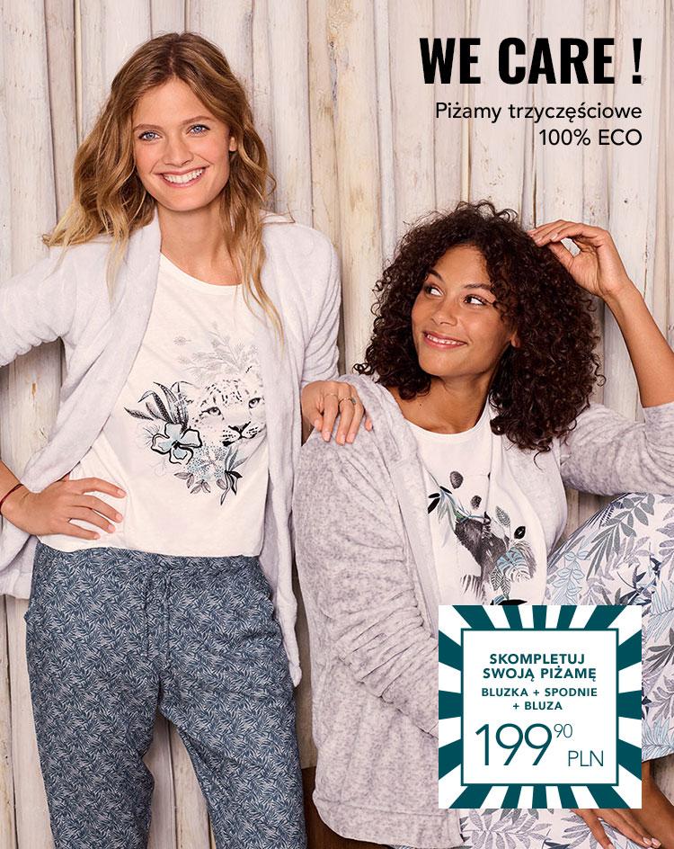 Piżamy trzyczęściowe 100% ECO